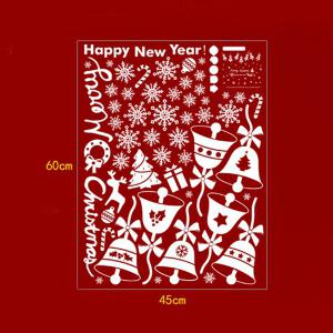 Christmas Bell Removable Room Decor Wall Stickers -