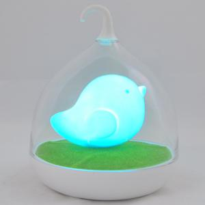 Induction Touch Fun Troopial Cage Goddess Night Light - Blue - 40