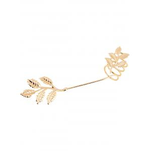 Gold Plated Spring Leaf Ring -