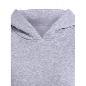 Elbow Patch Pullover Hoodie -