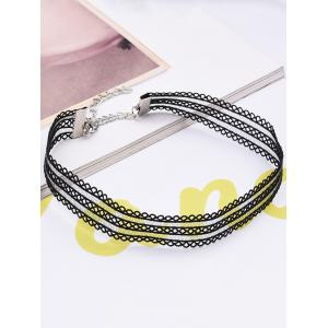 Multilayered Choker Necklace -