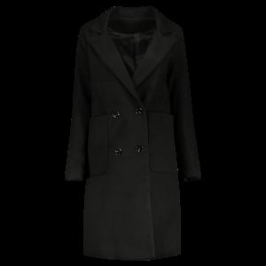 Long Double Breasted Walker Coat