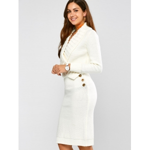 Long white fitted dresses