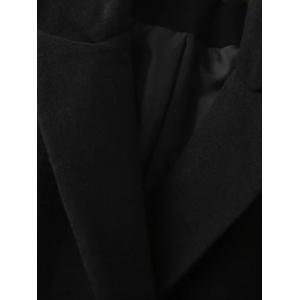 Manteau Long Walker Double Breasted - Noir L