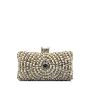 Beading Metal Trimmed Clutches