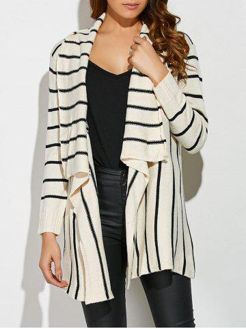 Shops Striped Loose Cardigan
