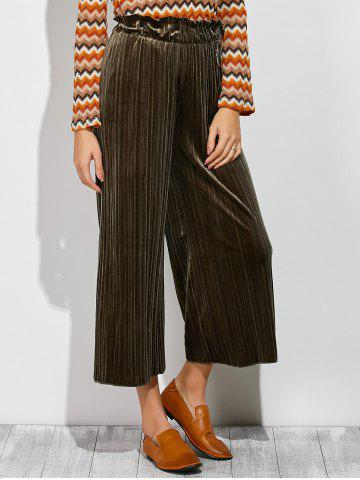 Store Pleated Ankle Wide Leg Palazzo Pants