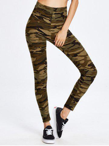 Buy Army Camouflage Running Exercise Pants CAMOUFLAGE ONE SIZE