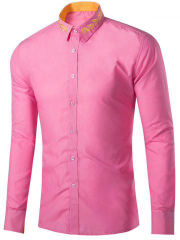 Mens Hot Pink Long Sleeve Shirt Cheap Shop Fashion Style With Free ...