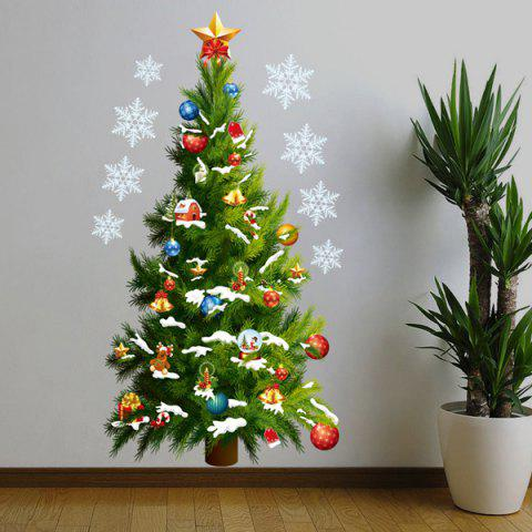 Christmas Tree Removable Room Decor Vinyl Wall Stickers Custom - GREEN