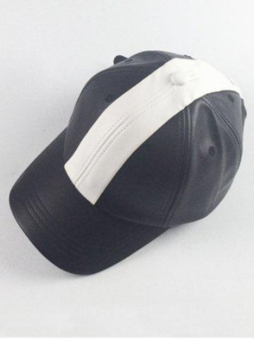 Hip Hoop Color Style Splicing Baseball Hat