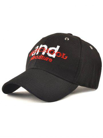 Cheap Letters Embroidery Outdoor Adjustable Baseball Cap