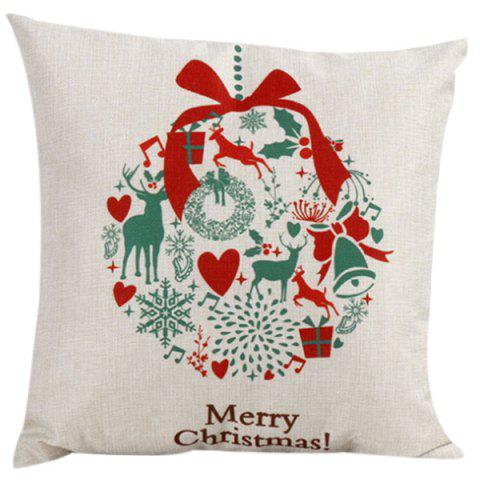 Cheap Merry Christma Household Pillow Case