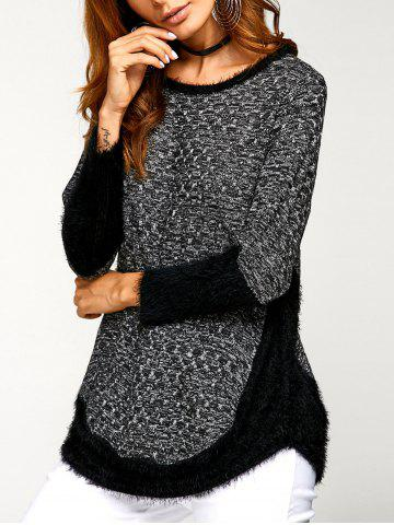 Outfits Asymmetric Pullover Sweater