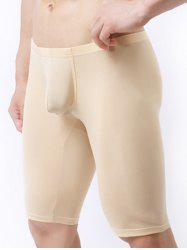 Breathable Ultrathin U Convex Pouch Cropped Pants