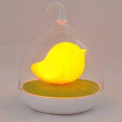 Induction Touch Fun Troopial Cage Goddess Night Light - ORANGE YELLOW