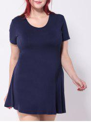 Plus Size Swing Mini Dress