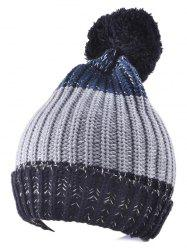 Warm Big Ball Knitted Beanie
