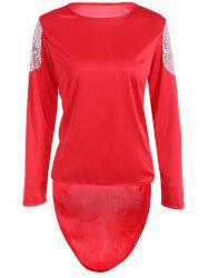 Sequins High Low T-Shirt