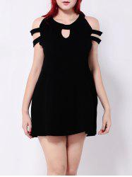 Hollow Out Keyhole Mini Dress