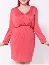 Ruched Fitted Sheath Dress -