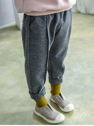 Elastic Waist Narrow Feet Sweatpants -