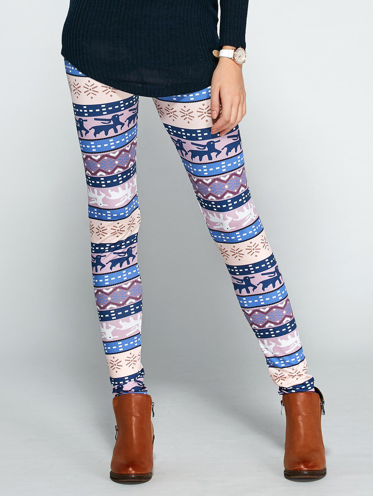Noël Ornement Printed Leggings