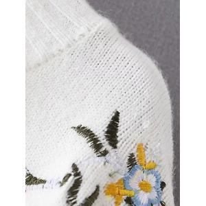 Chinese Painting Embroidery Jumper Sweater -