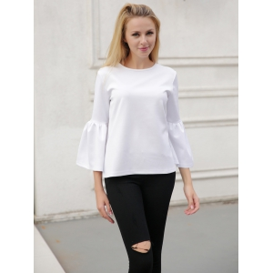 Bell Sleeve Slimming T-Shirt -