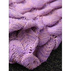 Hiver Épaissir Crochet Throw Wrap Mermaid Blanket -