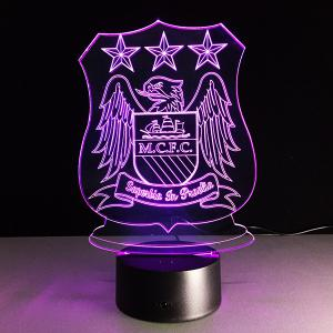 7 Color Changing 3D Bulbing Light Trophy Night Light