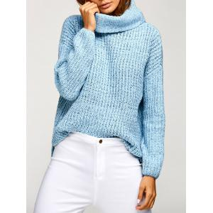 Cowl Neck Oversized Pullover Sweater