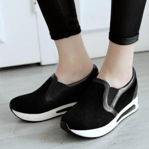 Hidden Wedge Slip On Sneakers -