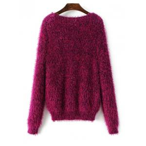 Fluffy Pullover Sweater -