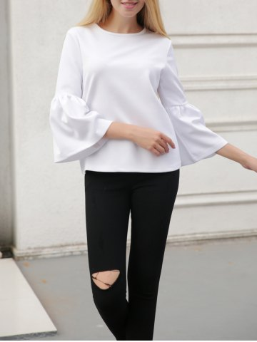 Store Bell Sleeve Slimming T-Shirt