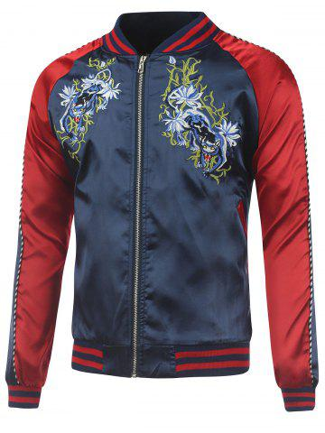 Buy Kylin Embroidery Raglan Sleeve Souvenir Jacket