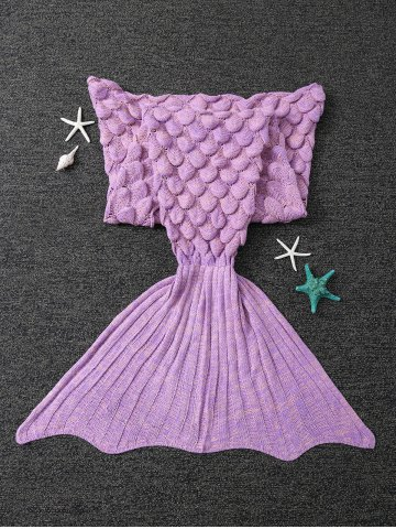 New Winter Thicken Crochet Throw Wrap Mermaid Blanket - CONCORD  Mobile
