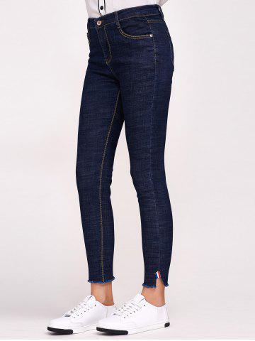 Shops Stretchy Side Slit with Pockets Jeans