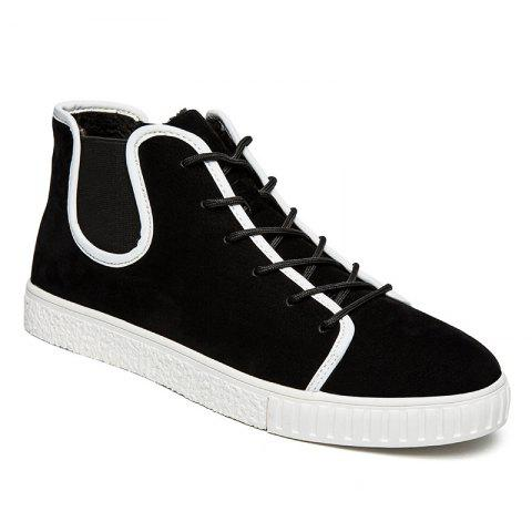 Buy Casual Suede Lace Up Ankle Boots