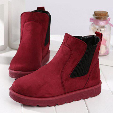 Affordable Ankle Suede Snow Boots