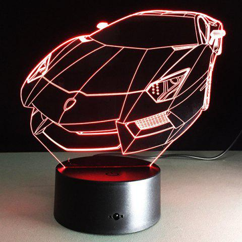 Sale 7 Color Touch Changing 3D Roadster Night Light