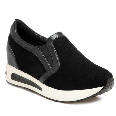 Store Hidden Wedge Slip On Sneakers