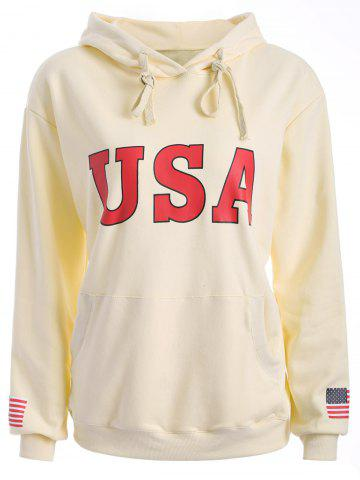 Shop USA Jumper Hoodie OFF-WHITE M