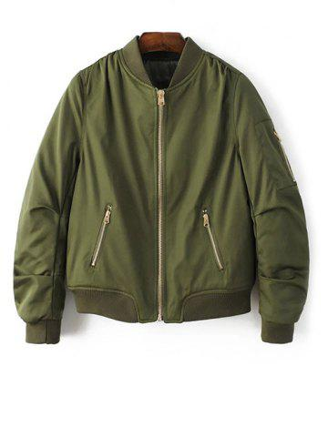 Affordable Zipped Bomber Jacket