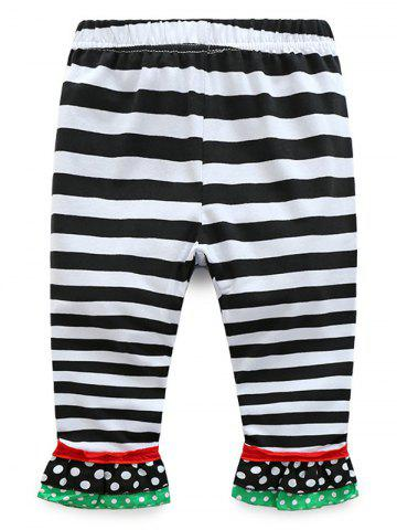 Online Kids Christmas Snowman T-Shirt With Striped Pants Outfits - 110 RED Mobile