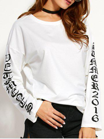 Trendy Round Neck Graphic T-Shirt