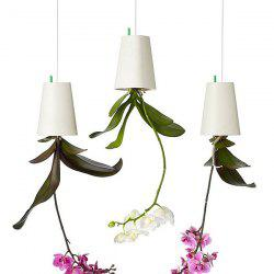 Home Decoration Upside Down Hanging Bonsai Flower Sky Planter - WHITE