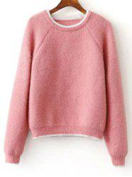 Raglan Sleeve Jumper Sweater