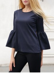 Bell Sleeve Slimming T-Shirt