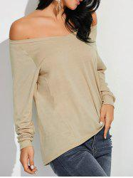 Comfy Off-The-Shoulder T-Shirt